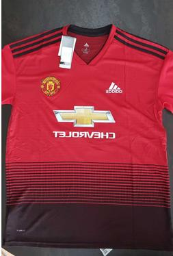 Adidas Men's Manchester United Home 2018/2019 Soccer Jersey