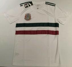 Men's Mexico Away Soccer Jersey White Color