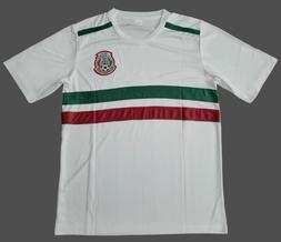 Men's Mexico National Soccer Team White Jersey 2018 World Cu