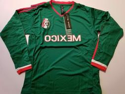 men's Mexico soccer jersey green color