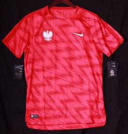 Nike Men's Poland World Cup Squad Jersey Soccer Top Shirt 89