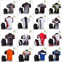 Men's Sport Team Cycling Jersey Sets Bike Bicycle Bib Top Sh