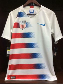 USA Home Soccer Jersey White 2018/19 - 893902-100 Nike Men's