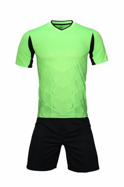 Men short sleeve sports training sets football suit DIY team