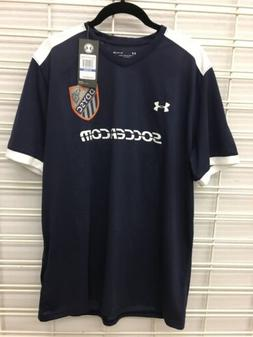 Mens Under Armour DDYSC Soccer Jersey XL Blue w/Logo Polyest