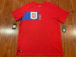 Nike Men's United States Soccer Team Crest Jersey Shirt XX