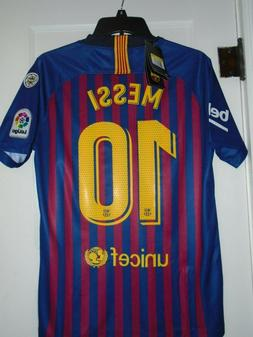 Messi  Barcelona Soccer Jersey Large