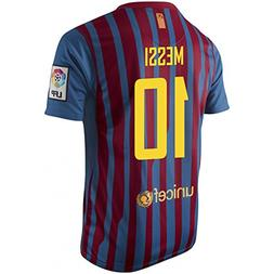 messi fc barcelona home jersey