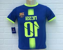 Messi FC Barcelona Soccer Jersey Size Youth Small