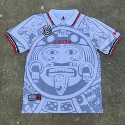 MadStrange Mexico 1998 Away Soccer Jersey