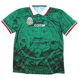 MadStrange Mexico 1998 Home Soccer Jersey