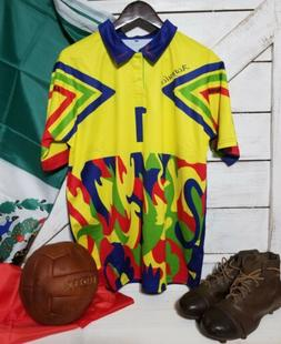 Mexico 1998 Jorge Campos #1 Goalkeeper  Jersey Sizes M