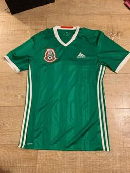 Adidas Mexico 2016 2017 Official Home Soccer Jersey Small
