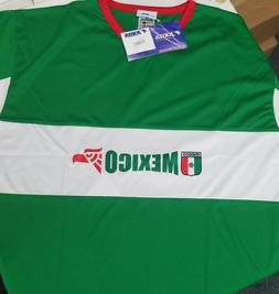 Joma Mexico FC Football Soccer World Cup Green White Red Jer