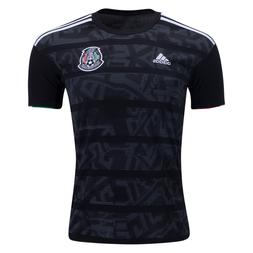 mexico soccer black jersey gold cup brand
