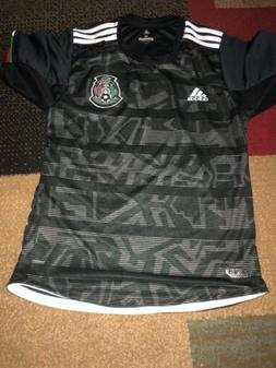 Mexico Home Black Soccer Jersey 2019 Gold Cup Seleccion Mexi