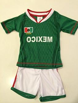 Kids Mexico Home Soccer Jersey