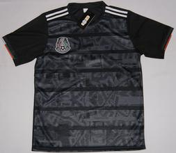 Mexico Men Soccer Jersey Black Copa Oro 2019 Playera Negra S