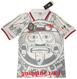 Mexico Retro Soccer Away Jersey 1998 World Cup Soccer Jersey