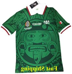 Mexico Retro Soccer Home Jersey 1998 World Cup Soccer Jersey