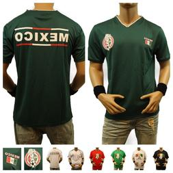 Mexico Soccer Jersey Team Football Men Uniform Lot Sports Sh