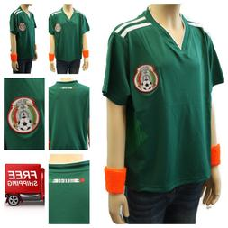 Mexico Soccer Jersey 2018 World Cup Uniform T-Shirt Kids You