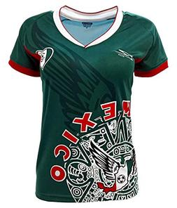 Arza Sports Mexico Womens Soccer Jersey Exclusive Desin