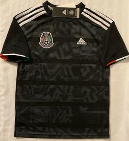 Adidas Mexico Youth Black Soccer Jersey. Youth Size: XS.M.L