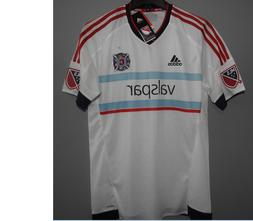 MLS Adidas Chicago Fire Soccer Football Jersey New Mens Size