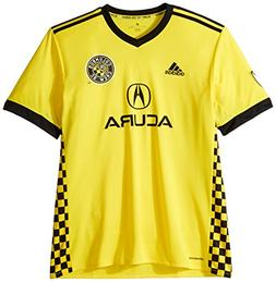 MLS Columbus Crew Adult Men Replica Wordmark s/jersey,X-Larg