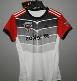 MLS Adidas DC United Soccer Jersey New Youth Size MEDIUM