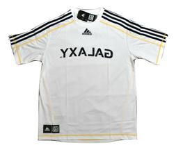 adidas MLS Mens Los Angeles Galaxy Climalite Soccer Jersey N