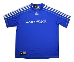 adidas MLS Mens Montreal Impact Climalite Soccer Jersey NWT