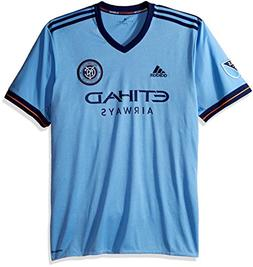 MLS New York City FC Adult Men Replica Wordmark s/jersey,Lar