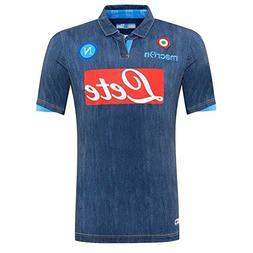 Macron 2014-2015 Napoli Authentic Away Match Football Soccer