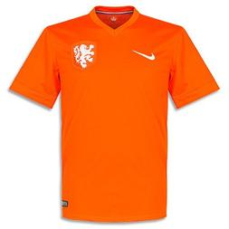 NIKE Netherlands 2014 Stadium Men's Soccer Shirt, Orange, XX