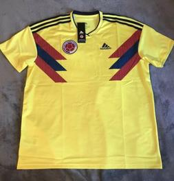 **NEW** ADIDAS 2018 Colombia Home Soccer Jersey. Size: XL, X