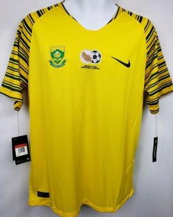 NEW Nike 2018 South Africa Stadium Home Jersey Soccer /Footb