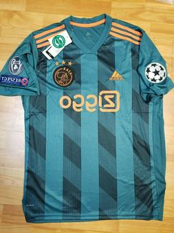 New 2019/20 AJAX Away soccer jersey size L Large football 19