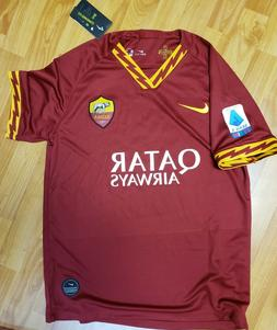 New 2019/20 AS ROMA soccer jersey Home size S M L football 1
