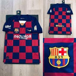 NEW NIKE 2019-2020 Barcelona Home Jersey Multiple Sizes Red/