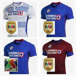 New 2020-21 Cruz Azul Home/Away Soccer Jersey Shirt S-XXL. A