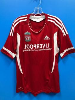 NEW Adidas Adult 100% Polyester Liverpool Soccer Jersey Colo
