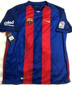 NEW Nike Authentic Dri Fit Barcelona FCB Soccer Jersey Unice