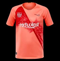 NEW Nike Barcelona 18/19 Pink Third Soccer Jersey Youth Smal