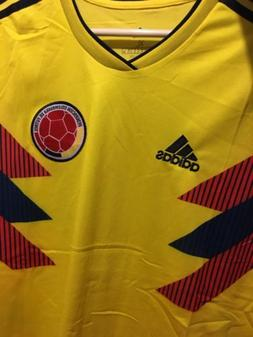 New Colombia Nacional Mens Team Soccer Futbol Jersey Size XL