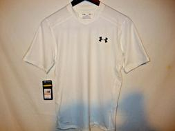 NEW Under Armour Highlight Mens Soccer Jersey Shirt White
