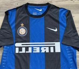 NEW Nike Inter Milan PLAYER ISSUE Home Jersey RARE Pro Cut A