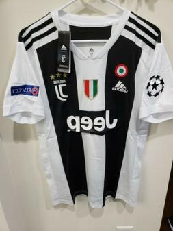 NEW Adidas Juventus Soccer jersey with patch respect Jeep Se