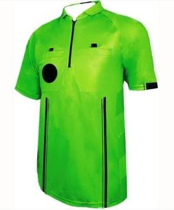 1 Stop Soccer New Men's Soccer Pro Referee Jersey Green